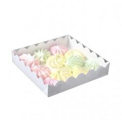 Коробка для пряников 15*15*3 см белый 4488797