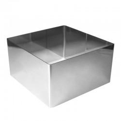 Рамка кондитерская квадрат металл 22 см H=10см 310554