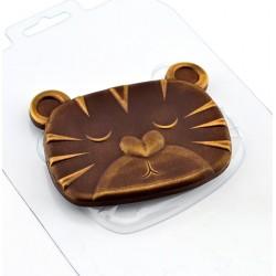'Шоко тигриные мечты' пластиковая форма для шоколада (MF)