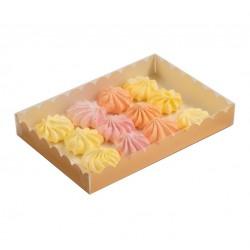 Коробка для пряников 22*15*3 см золото 4432276