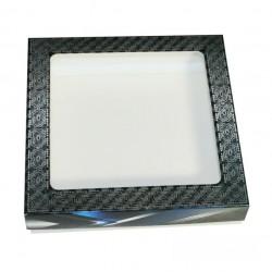 Коробочка с окном Рамка сталь квадратная 17*17*3,5см (1573) ML*