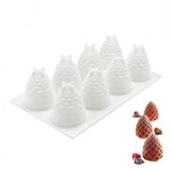 'Шишки' силиконовая форма для выпечки/мусса