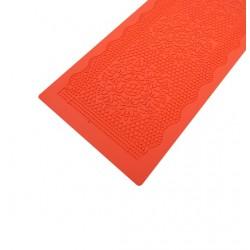 Коврик для айсинга большой Цветочная мозайка 37*12 см 206630