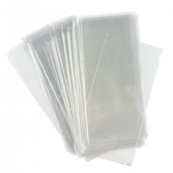 Пакет для пряника прозрачный (без клейкой ленты) 12*25 см 25 шт