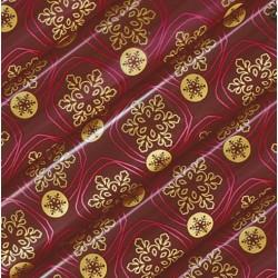 Трансфер для шоколада 'Снежинки 2 цвета' А3