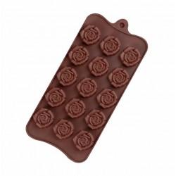 Форма для шоколада «Розочки» 15 ячеек 1687509