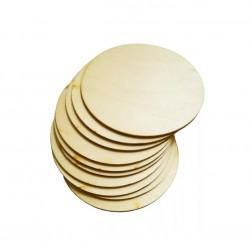 Подложка для торта 30 см круглая деревянная 6мм