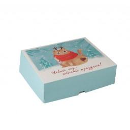 Упаковка для кондитерских изделий «Котик», 20х17х6 см 7043567