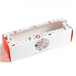 'Время добрых подарков' коробка для macarons 18*5,5*5,5см (SM) 5118102