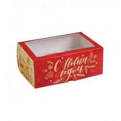 Коробка для капкейков на 6 ячеек ВРЕМЯ ВОЛШЕБСТВА 25*17*10см 5117707