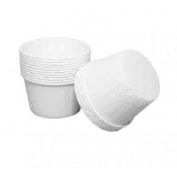 'Белые стаканчики 100' формы для капкейков 100шт