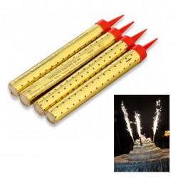 Свечи для торта Римские 'Фонтаны' 10см 4 шт 4682661