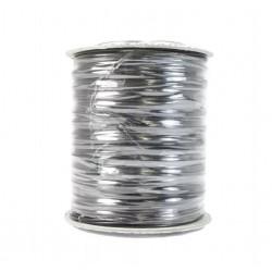 Лента для перевязки пакетиков (РУЛОН), 500 м (серебро)