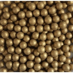 Шарики бронза перламутр 6 мм 500 гр