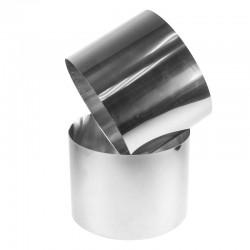 Рамка кондитерская для мусса кольцо H=12 D=22см ВЫСОКАЯ металл 310405