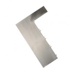 Скребок струна 1 шт,металл 18,5*12*0,2 см 4314197
