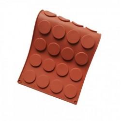 Форма силиконовая Медаль 35*5 мм, 24 ячеек