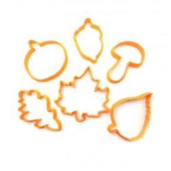 Набор форм для пряника 'Осень' LC-00003993 пластик