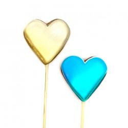 Пряничное сердце пряник на палочке в ассортименте 1шт