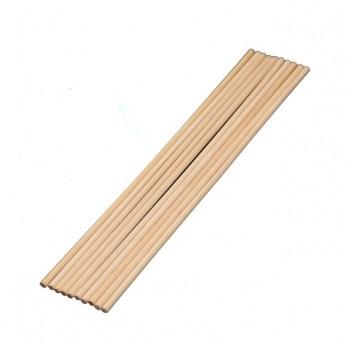Палочки деревянные 40 см, толщина - 12мм, 5 шт