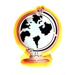 Трафарет+форма 'Глобус' ZFT LC-00006152 пластик
