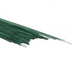 Проволока флористическая зеленая 1,1мм*40см 10 шт 11ДП