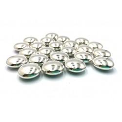Монетки серебряные с шоколадом посыпка кондитерская 30 гр