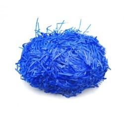Наполнитель для подарочных наборов синий бумага 100 гр
