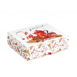 Упаковка для кондитерских изделий «Present», 20х17х6 см 5155348