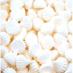 Безе (рифленые) средние белые 50гр