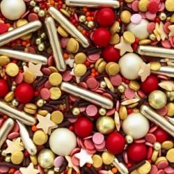 Посыпка кондитерская MIXIE Красный бархат 50 гр