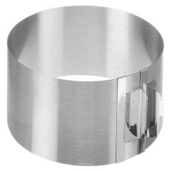 Рамка кондитерская раздвижная круглая металл ВЫСОТА 12СМ от 12-20 см 4178257