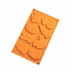 Форма для шоколада Животные 8 ячеек 2854672