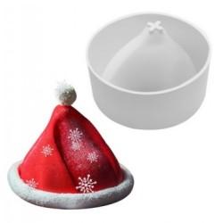 'Шапка деда мороза' силиконовая форма для выпечки/мусса