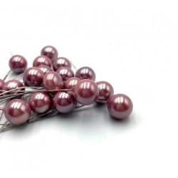 Тычинки для сахарных цветов, фиолетовые