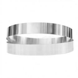 Кольцо кондитерское для тартов низкое 12*2см 310010