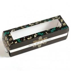'Снежинка' коробка для macarons 18*5,5*5,5см (SM) 5118109