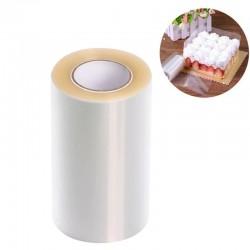 РУЛОН Лента ацетатная для торта жесткая h=20 см 20м
