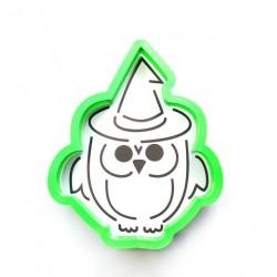 Трафарет+форма 'Сова в шляпе' LC-00004562 пластик