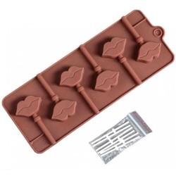 'Поцелуй' форма силиконовая для леденцов 2570351