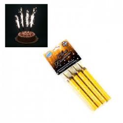 Свечи для торта Римские 'Фонтаны' 12,5см 4 шт 1553639