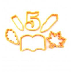 Набор форм для пряника 'День знаний №2' LC-00009228 пластик