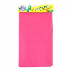 Скатерть «Праздничный стол», 137х183 см, цвет розовый 1019753
