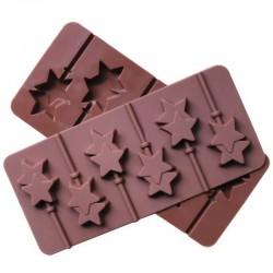 'Звёзды' форма силиконовая для леденцов 1000370