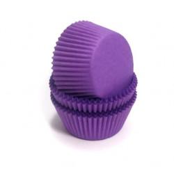 Формочки (мини) бумажные для конфет/кейкпопсов ФИОЛЕТОВЫЙ 3см*2см (1 связка)