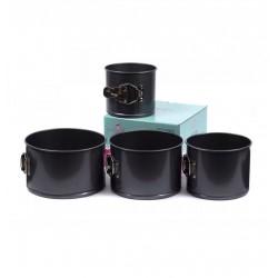 Набор форм для выпечки куличей со съемным дном, 4 шт