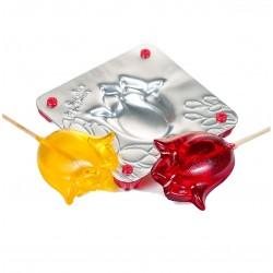 'Тюльпан' форма для леденцов металл 4863568