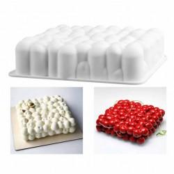Вишенки силиконовая форма для выпечки/мусса 17 см