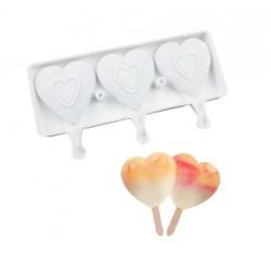 Сердце форма силиконовая для мороженого/мусса