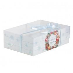 Коробка для капкейка Happy New Year, 23*16* 7.5 см 4334745
